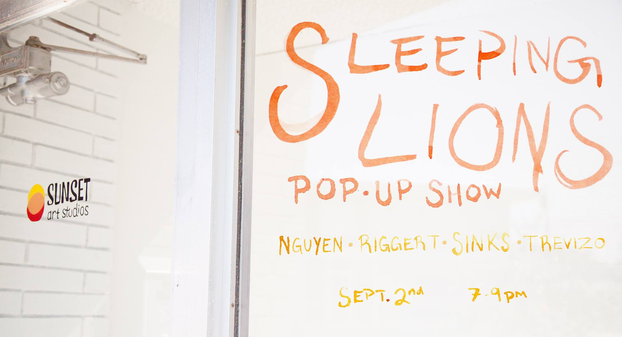Sleeping Lions Pop-Up Party