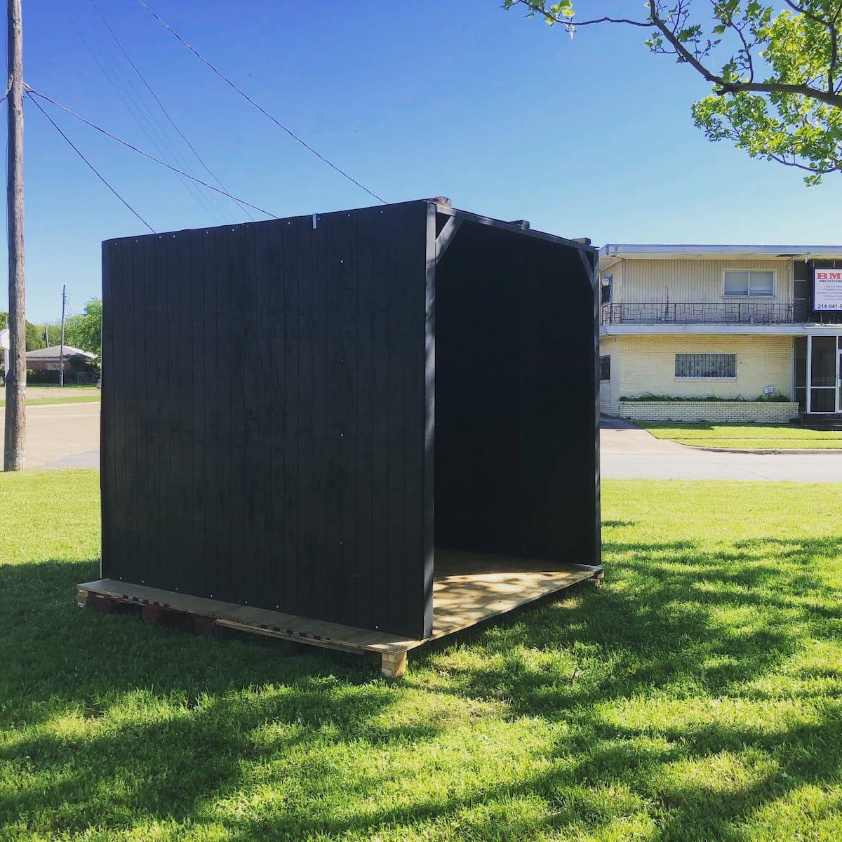Black Box II by Kiara Walls - Box Raising